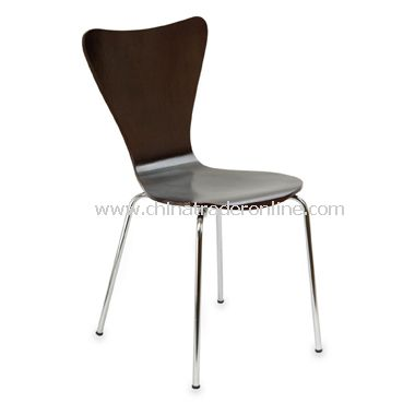 Legare Espresso Bent Plywood Chair from China
