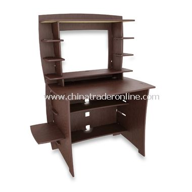 Legare Espresso Desk with Hutch