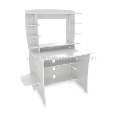 Legare White Desk with Hutch