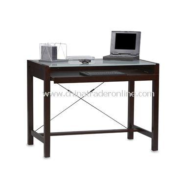 Linon Metro Espresso Computer Desk from China