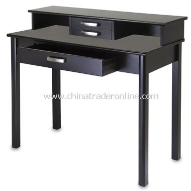 Liso Drop Front Desk and Hutch