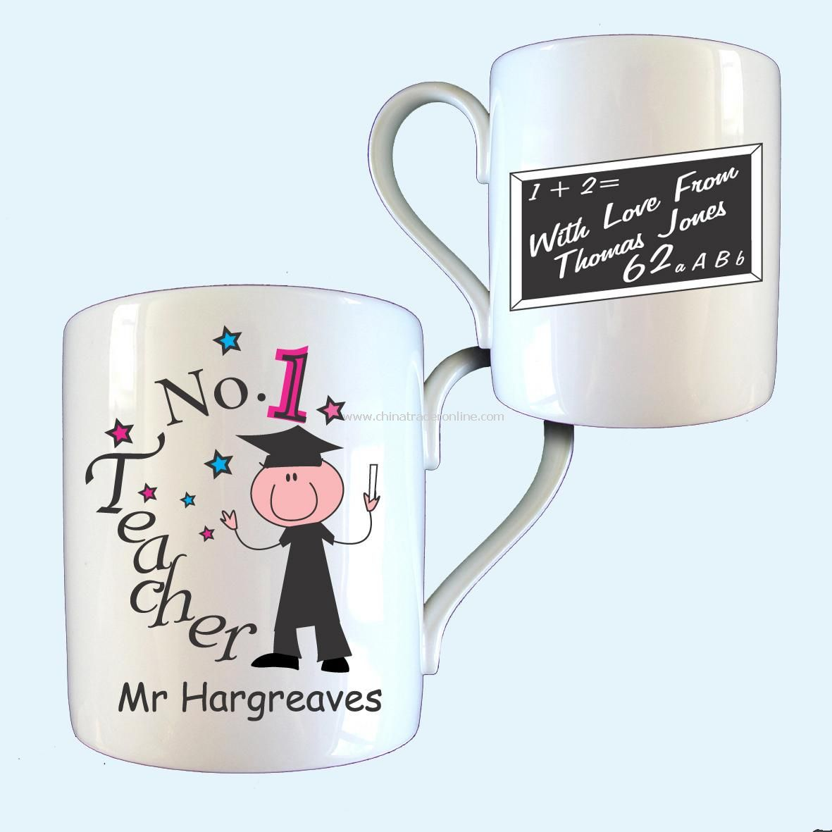 No 1 Teacher Mug
