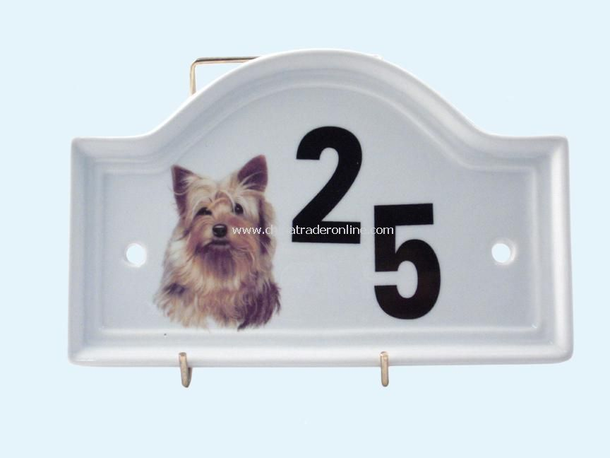 Pet Door Plaque
