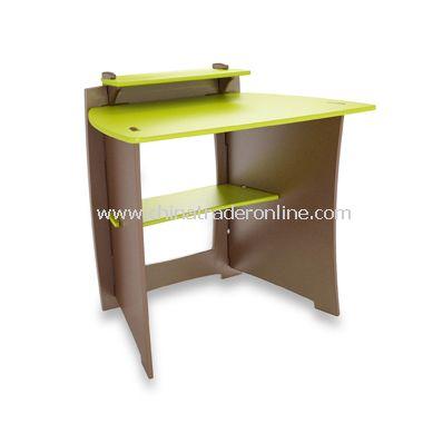 Pistachio Desk with PDA Shelf