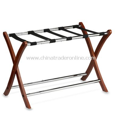 Expandable Wooden Luggage Rack