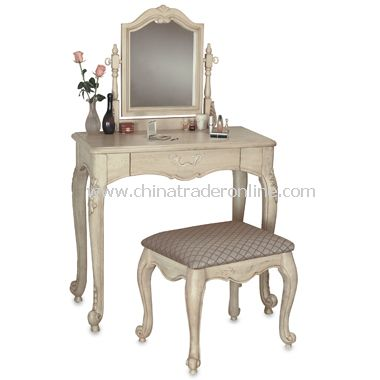 Hills of Provence Vanity, Mirror & Bench Set