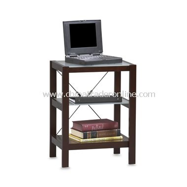 Linon Metro Espresso Finish Printer Stand