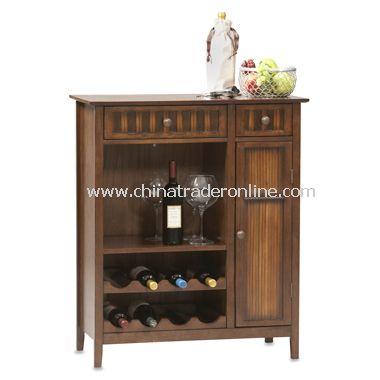 Linon Tasman Wine Bar Cabinet