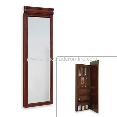 Louis Philippe Wall Mountable Jewelry Armoire