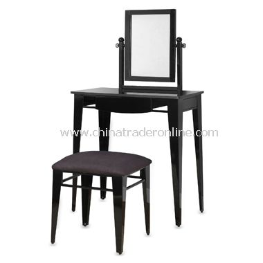Vanity Bench with Mirror