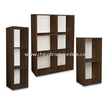 Way Basics Eco Friendly Tool-Free Bookcase and Storage - Espresso