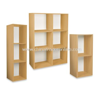 Way Basics Eco Friendly Tool-Free Bookcase and Storage - Natural