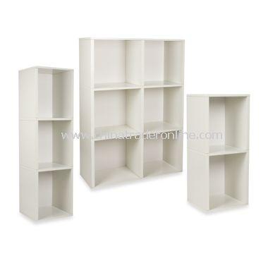 Way Basics Eco Friendly Tool-Free Bookcase and Storage - White