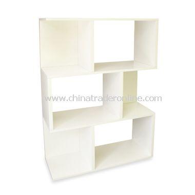 Way Basics Madison Bookshelf in White
