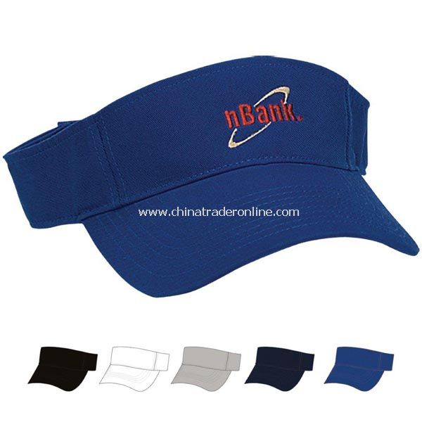 Cotton Chino Visor - Embroidered