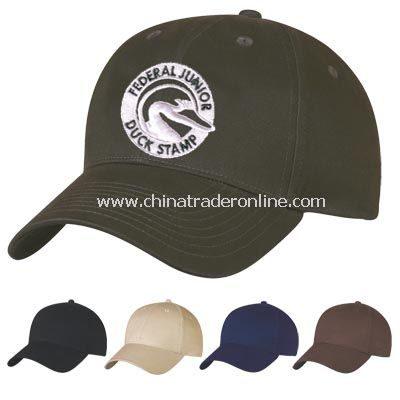 Organic Cotton Cap - Embroidered
