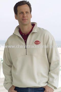 1/2 Zip Sanded Jersey Fleece