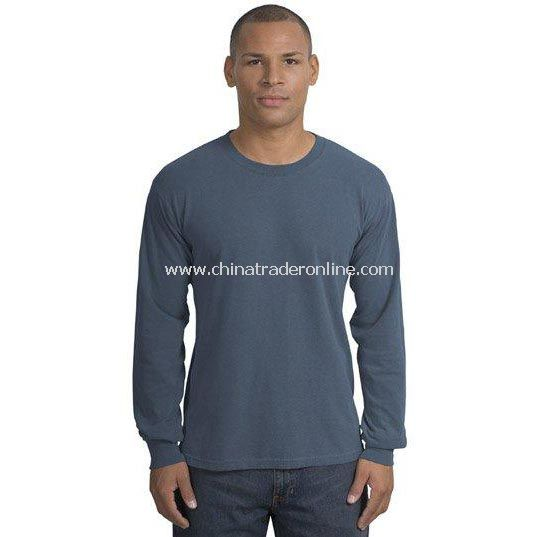 District Threads Long Sleeve Pigment-Dyed Tee