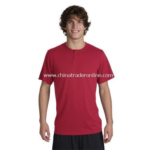 Sport-Tek - Short Sleeve Henley Tee