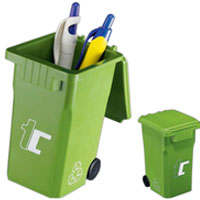 Recycle Bin Pen & Pencil Holder