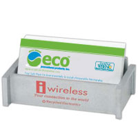 Recycled Electronics Business Card Holder