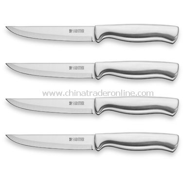 Stainless Steel Steak Knives (Set of 4)