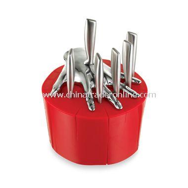Steak Knife Set - Red