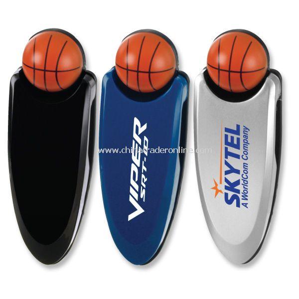 Basketball Visor Clip