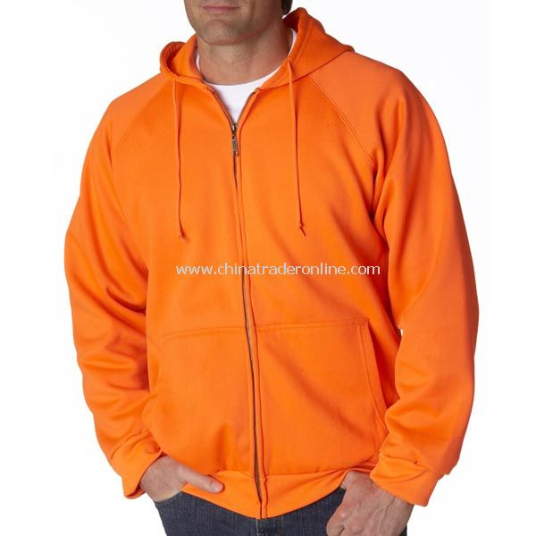 UltraClub Adult Rugged Wear Thermal-Lined Full-Zip