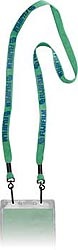 2 Swivel Hook Badge Lanyard