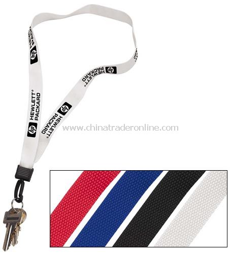 3/4 Inch Lanyard with Key Ring