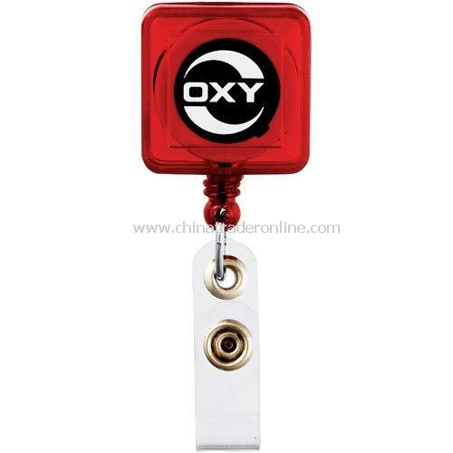 Block Retractable Badge Holder