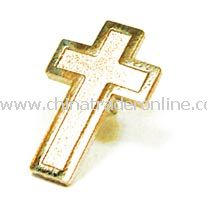 Cross Pin - Gold