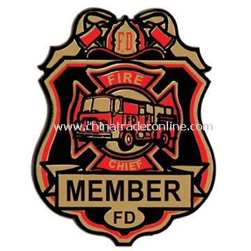Fire Chief Badge from China