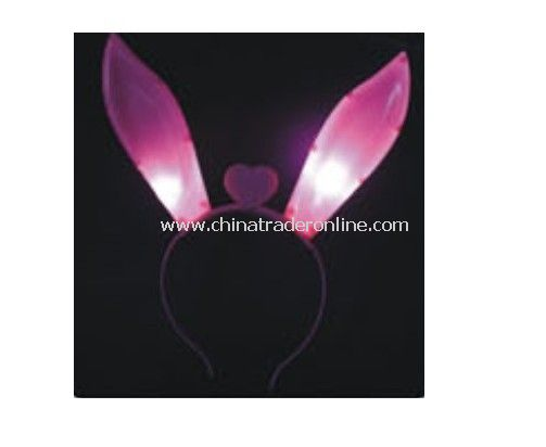 Flashing Hair Band with Rabbit Ears
