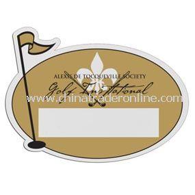 Golf Pin Badge