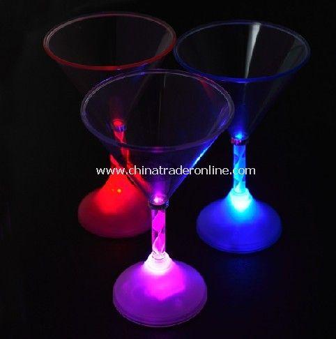 LED Light up Martini Glass