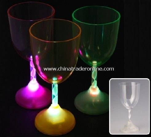 LED Light up Wine Glass