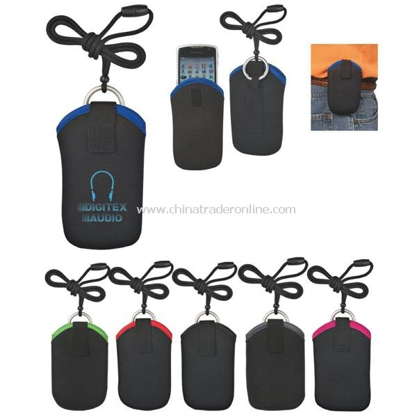 Neoprene Portable Electronic Neck Case