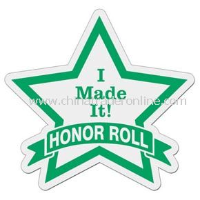 Star with Banner Badge