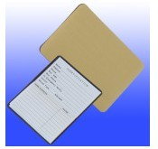 Magnetic Metallic Gold Business Card Address Book