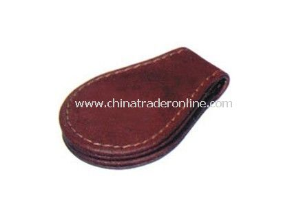 Money Clip, Made Of Leather, Suitable For Gift And Promotional Purposes