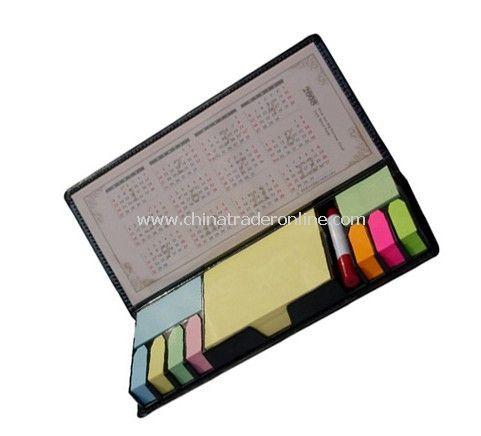 Notepad Holder with Pen / Calendar