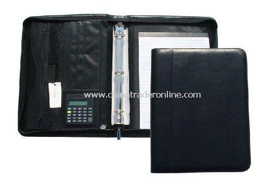 PU Zip Portfolio / Briefcases