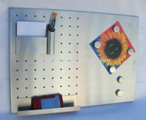 Stainless Steel Magnet Memo Board from China