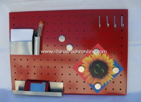 Steel Magnet Memo Board wiht Coating from China