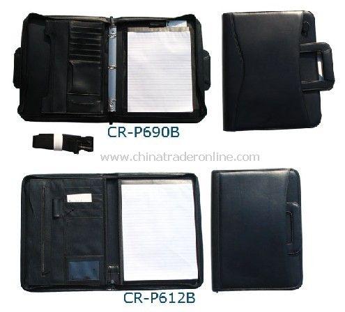 Zip Portfolios/Padfolios with Flexible Handles