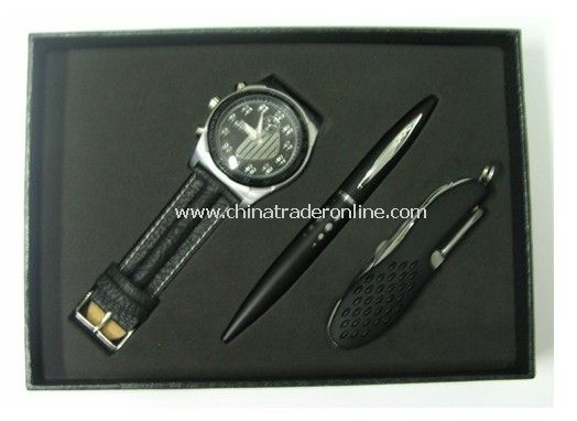 Gift Set, Watch&,Pen, Multi-Fuction Knife