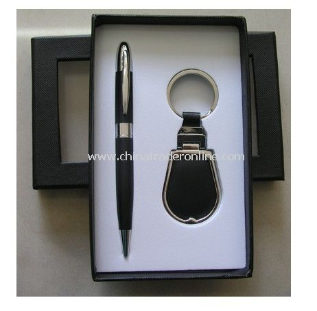 Gift Set Pen with Keyring