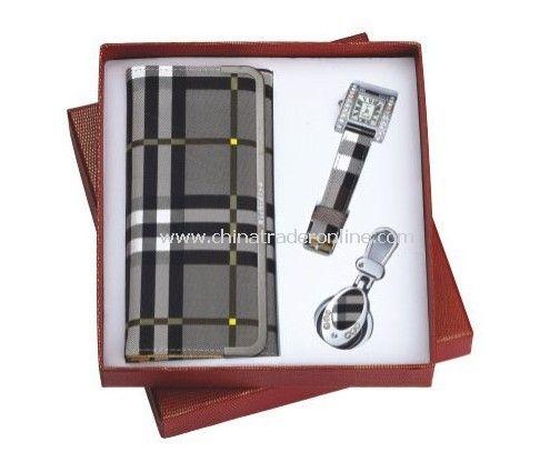 Gift Set Wallet,Watch,Keychain